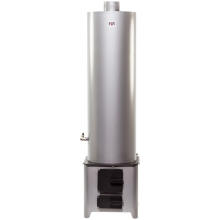 90l Stainless Steel Water Heater ensemble with Economic Firebox